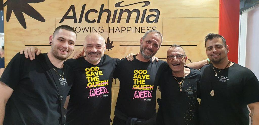 Professor Q, Ramon i David de Alchimia, Frenchy Cannoli i Leo Stone de Aficionat French Connection