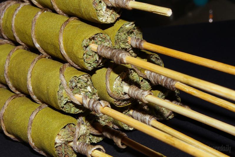 Els moderns Cannagars s'assemblen molt als antics Thai Sticks (Foto: La Plume Rosa)
