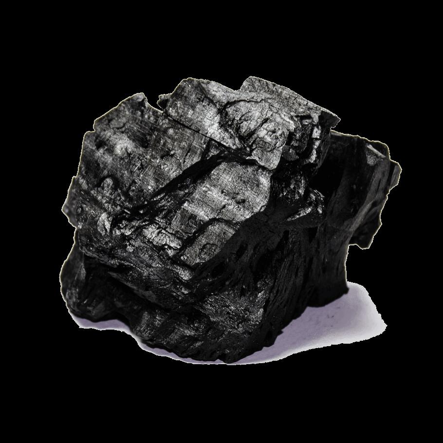 El carbó vegetal s'usa per fer Bokashi