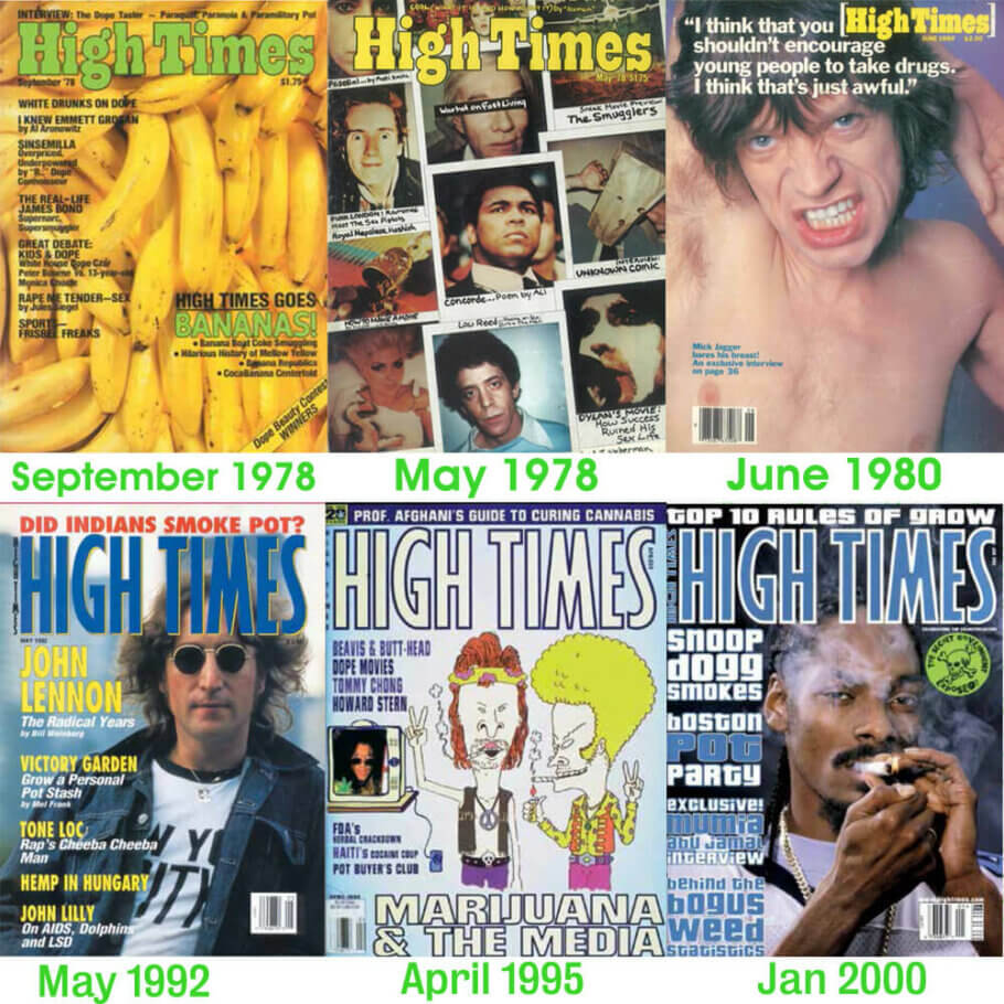 High Times, la revista sobre Cànnabis de referència
