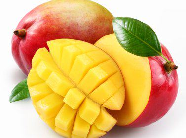 Tropical mango fruit