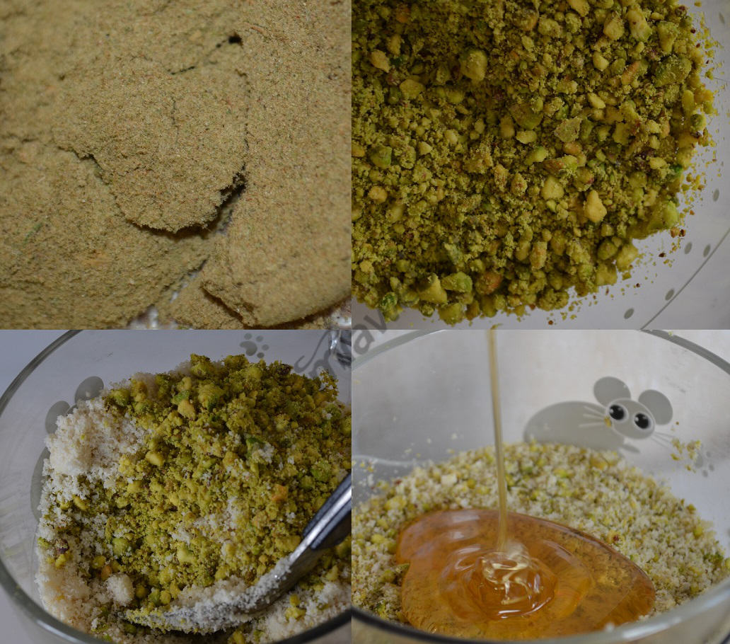 Preparation of hashish Dawamesk.