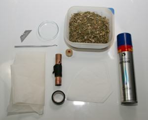 Needed equipment to make BHO