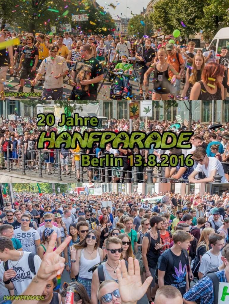 Hanfparade Berlin 2016