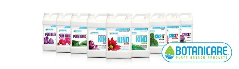 Botanicare's range of nutrients for plants