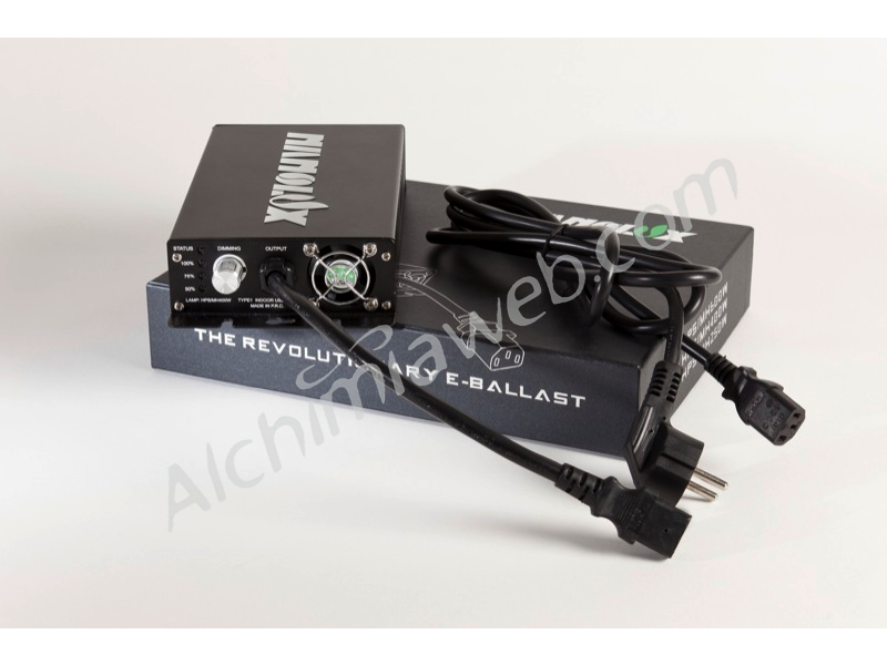 Nanolux electronic Ballast, the lightest and most compact on the market