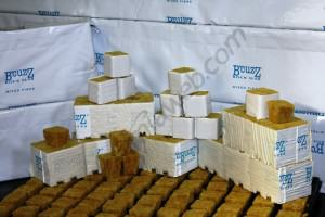 Rockwool Cubes and Slabs