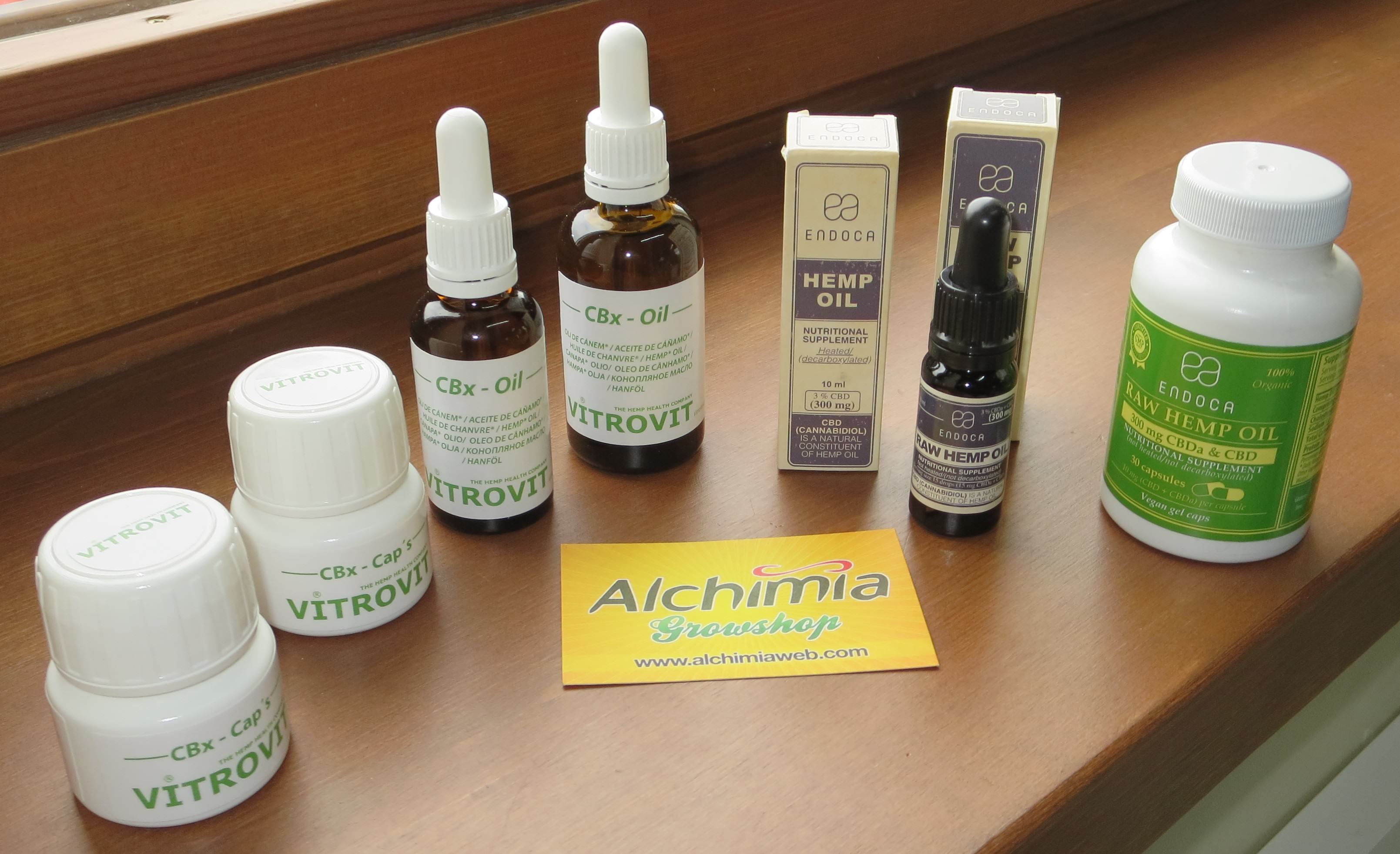Types of cannabis oils - Alchimia blog
