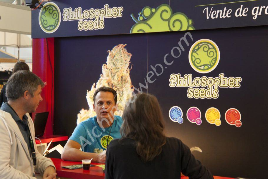 Philosopher Seeds booth