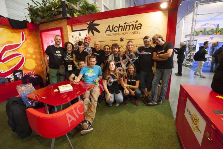 Alchimia booth, 2016 Expogrow
