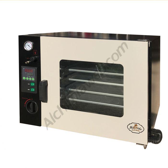 Vacuum ovens to purge BHO