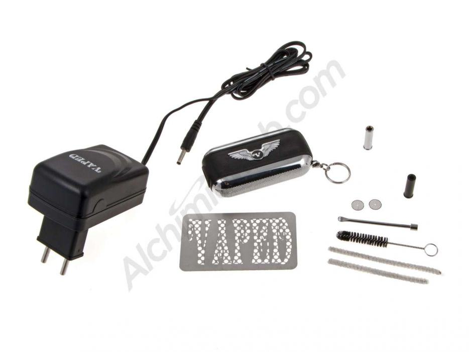 FOB vaporizer, included accessories