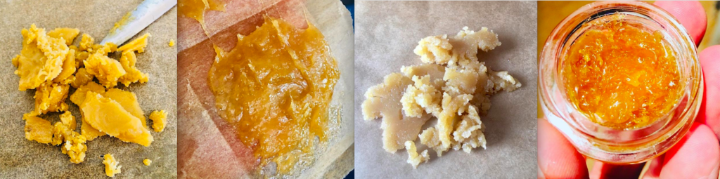 Terpene-rich Live Resin concentrates