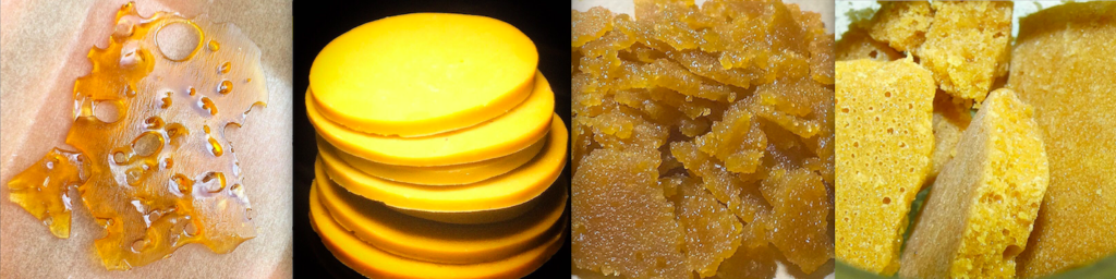 Four different BHO styles