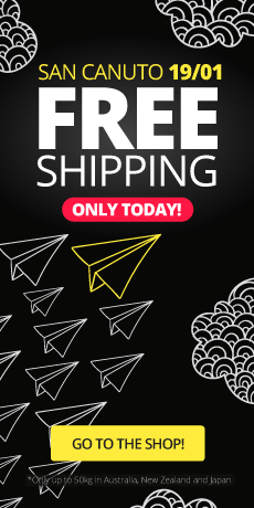 San Canuto: Free shipping. ONLY TODAY!