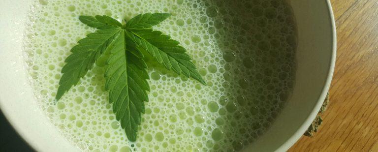 Bhang Lassi, cannabis milk shake