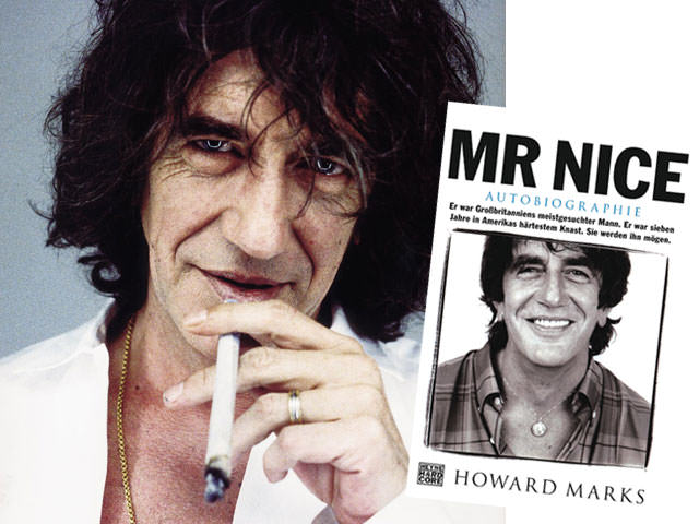 Autobiography of Mr Nice, the alias of Howard Marks