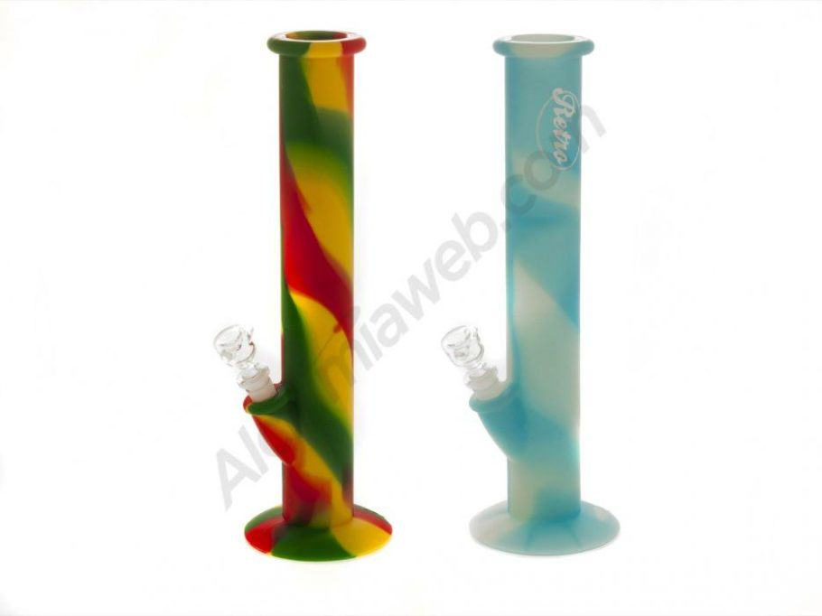 Silicone bongs, resistant and highly practical when traveling
