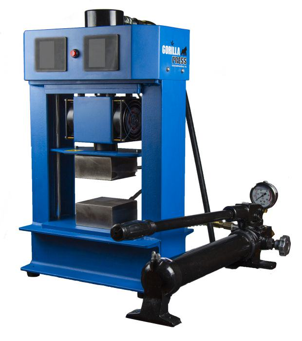Gorilla 20 ton Hydraulic Rosin Press