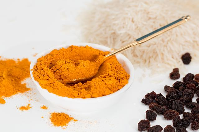Turmeric is one of the ingredients of curry