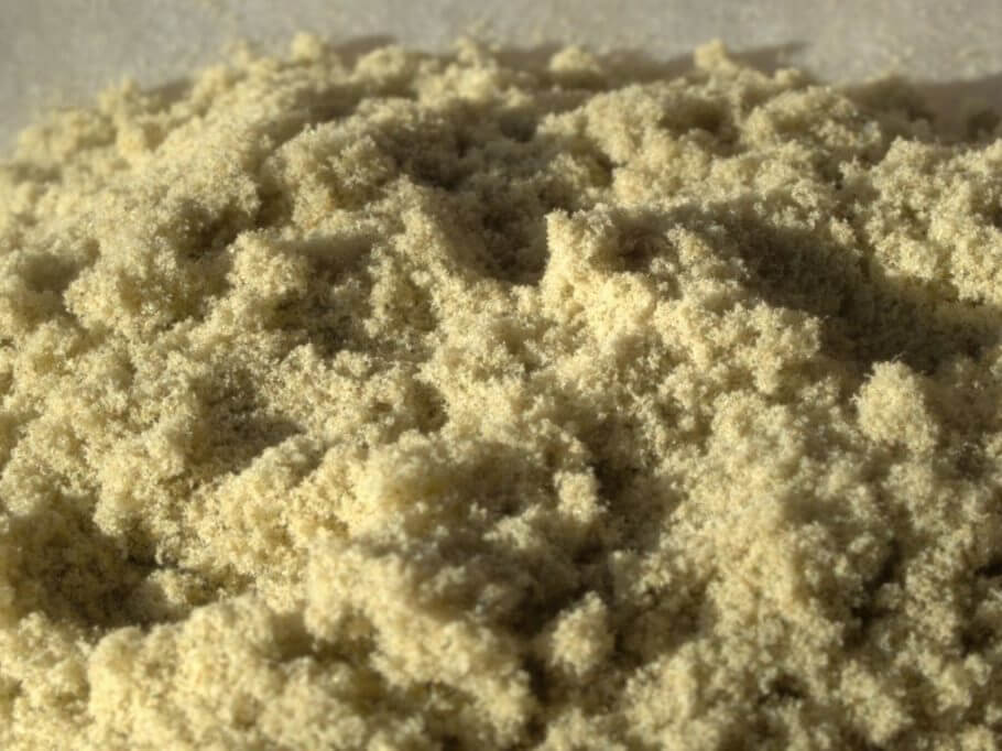 Kief or skuff, unpressed cannabis resin