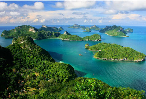 The Gulf of Thailand offered much more than beautiful views to travellers