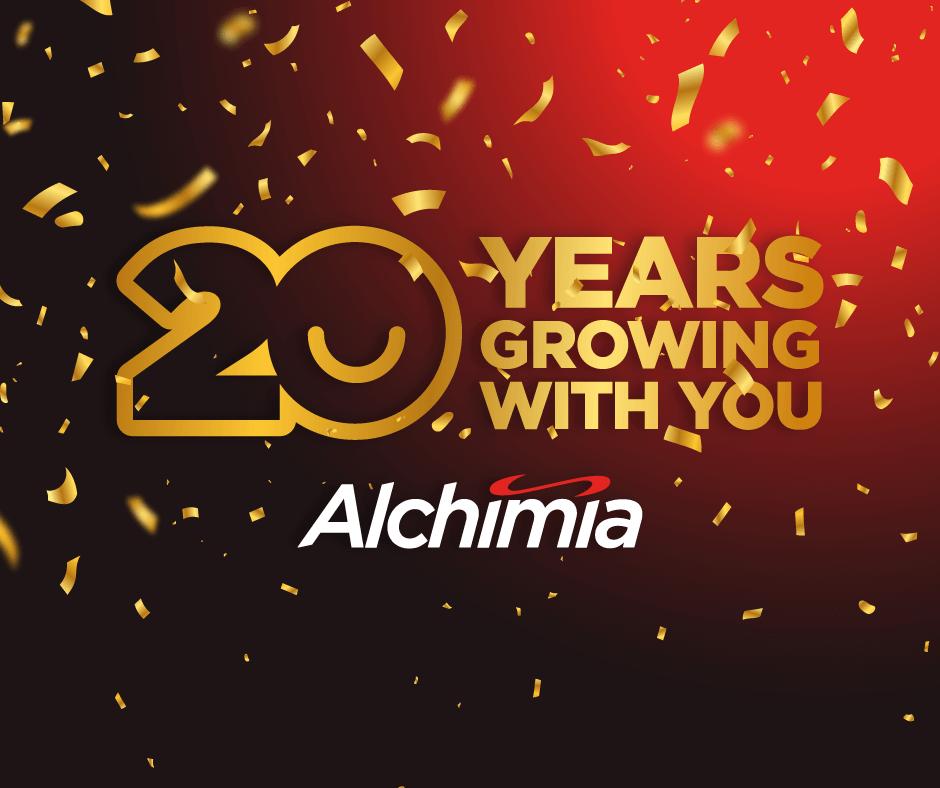 Alchimia Grow Shop is 20 years old!!