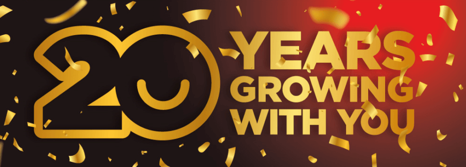 Alchimia 2001 - 2021: 20 years growing happiness!