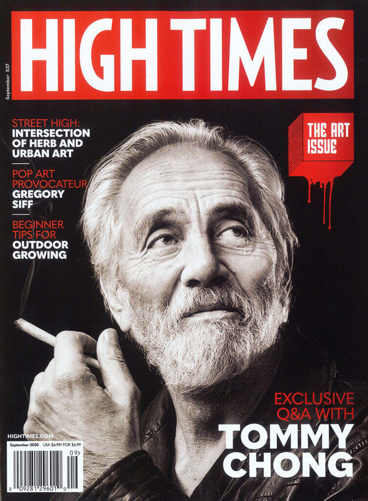 Tommy Chong holds the magazine cover record with 8 appearances (Source: Celebstoner)
