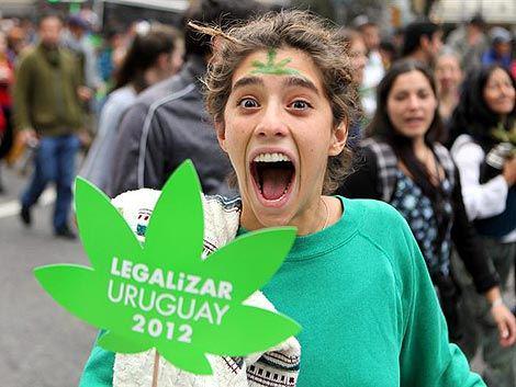 Manifestation pour la légalisation du cannabis
