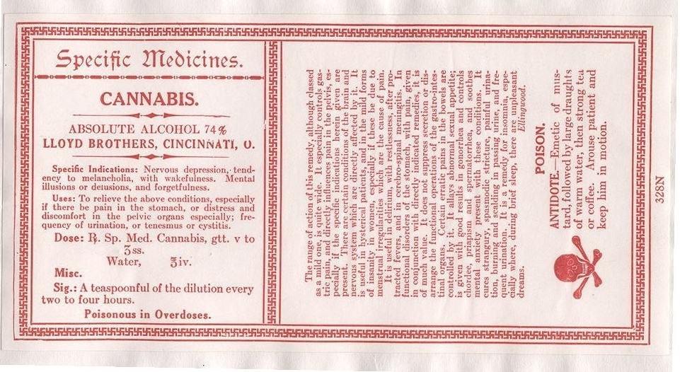 Médicament cannabique ancien, contre la dépression