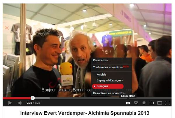 Interviews Spannabis 2013: Information, qualité et santé.