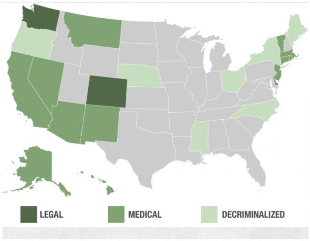 Le Maryland est le 19e Etat d'Amérique à légaliser le cannabis thérapeutique