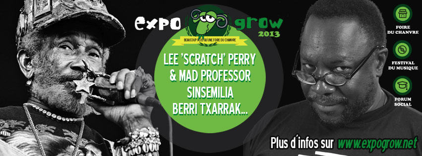 Artistes confirmés pour l'Expo Grow 2013