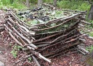 composteur maison en bois - Comment Fabriquer Un Composteur Exterieur