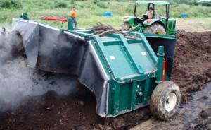 Aération mécanique du compost