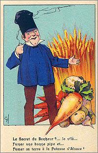 Publicité pour la potasse d'Alsace