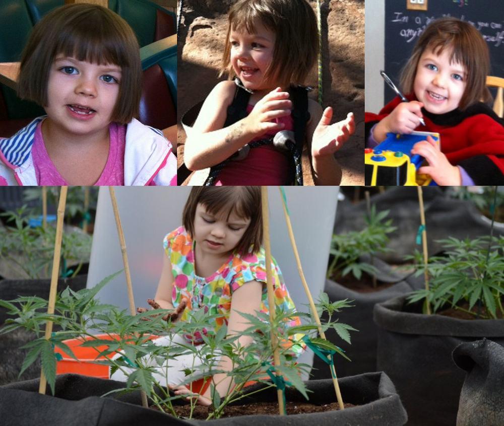 Charlotte Figi, 6 ans, atteinte d'une forme violente d'épilepsie, soignée par la plante de cannabis