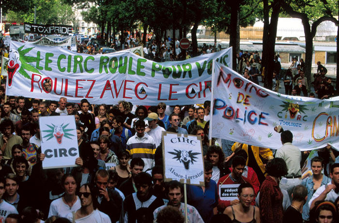 Appel du 18 Joint à Paris en France (1998)