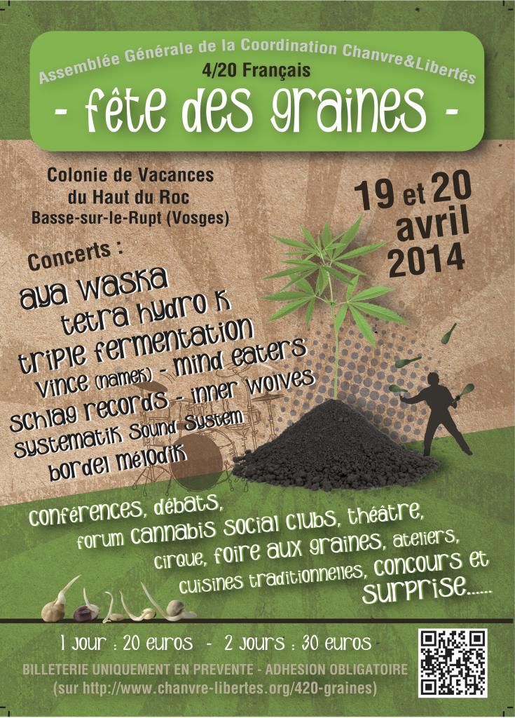 Fête des Graines dans les Vosges le weekend du 20/4