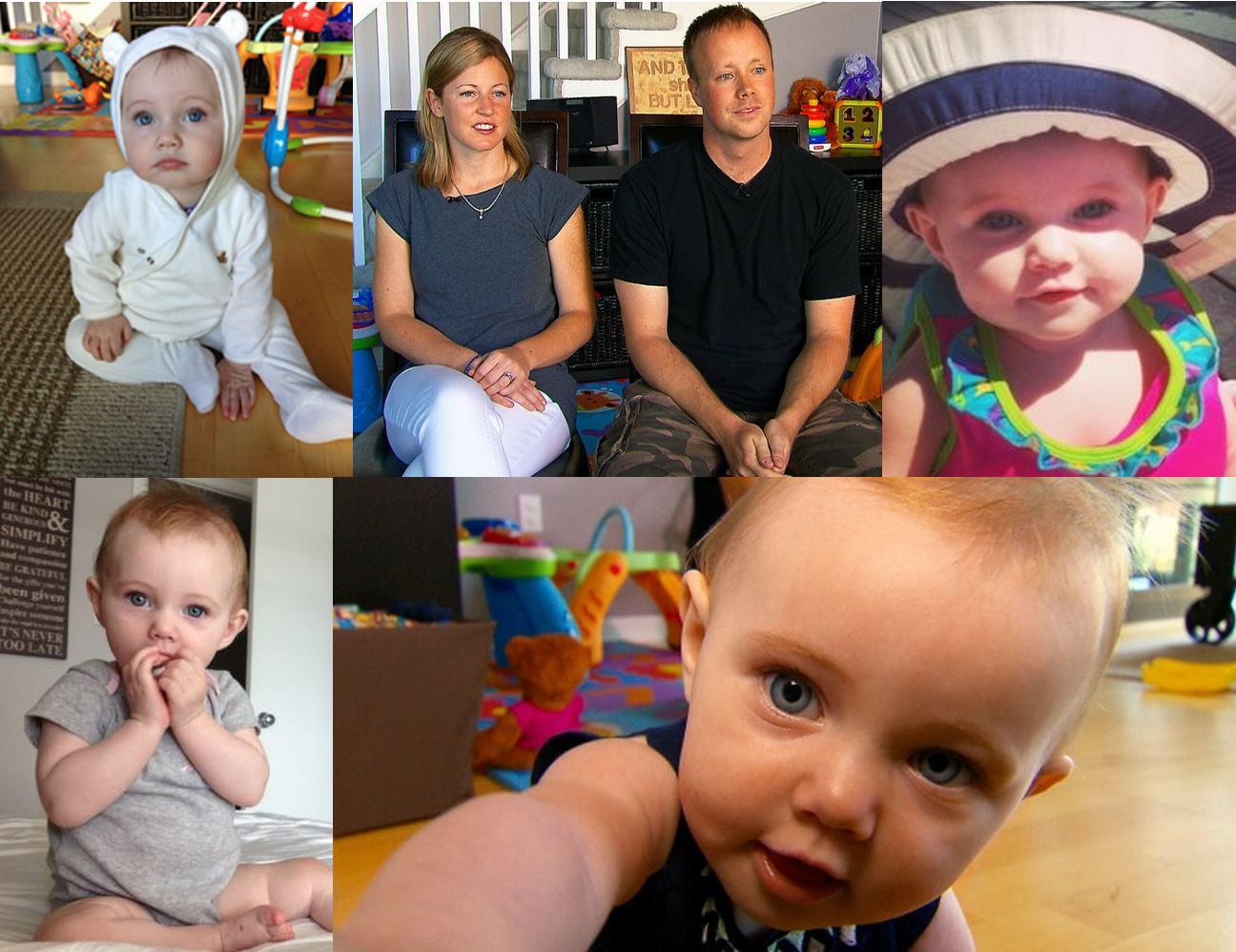 Kaitlyn Pogson, bébé canadien de 9 mois, atteint du syndrome de Dravet