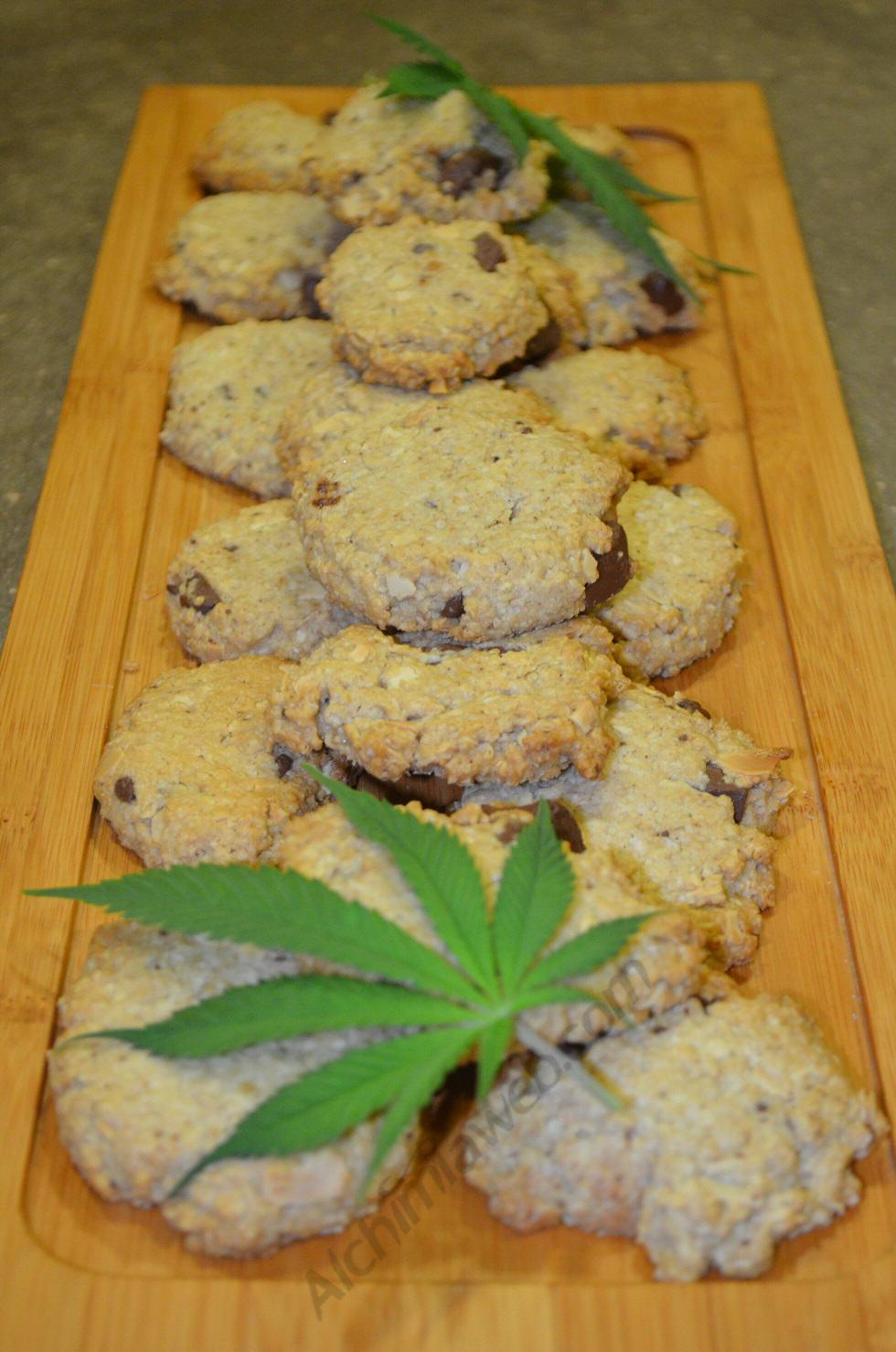 Les Space Cookies prêts à être dégustés!