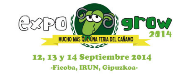 Salon cannabique Expogrow Irun 2014