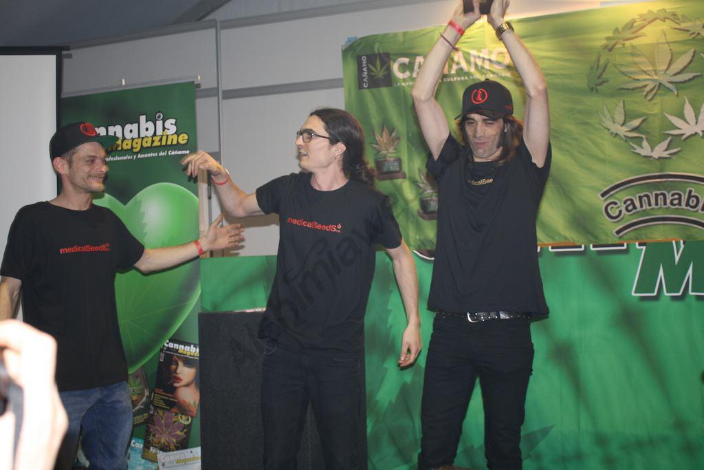1er prix Résine de la Cannabis Champions Cup pour Medical Seeds