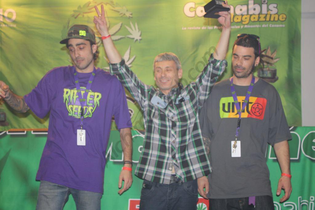 1er prix extérieur Cannabis Champions Cup