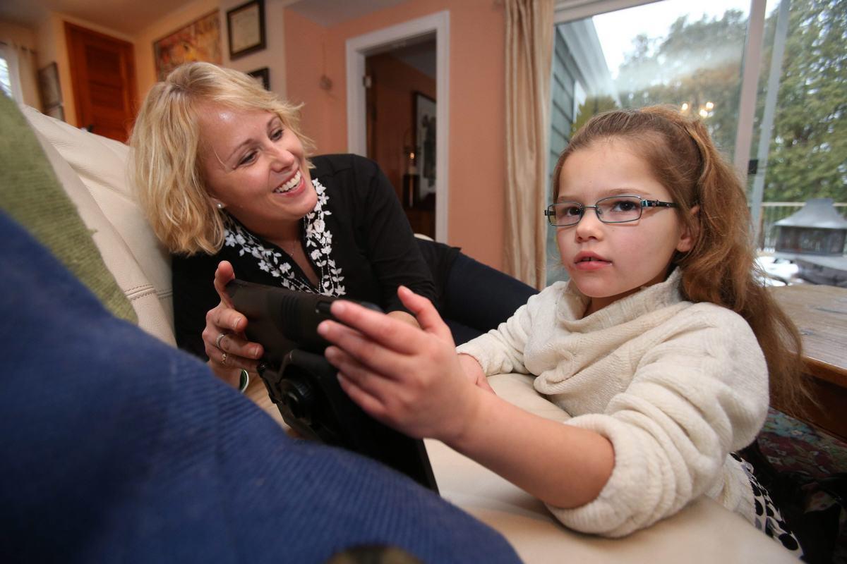 Wendy Conte veut soigner l'épilepsie de sa fille Anna, 8 ans, avec du cannabis médical
