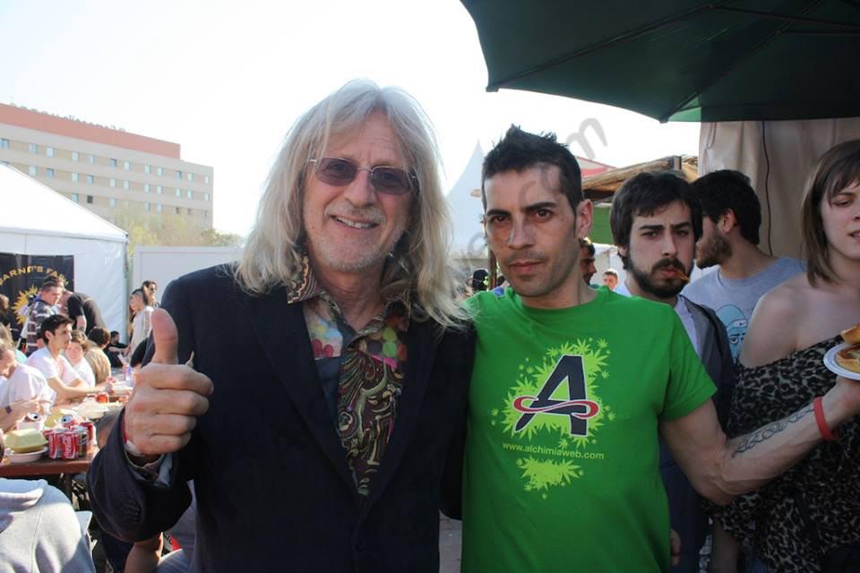 Jorge Cervantes avec Alex d'Alchimia