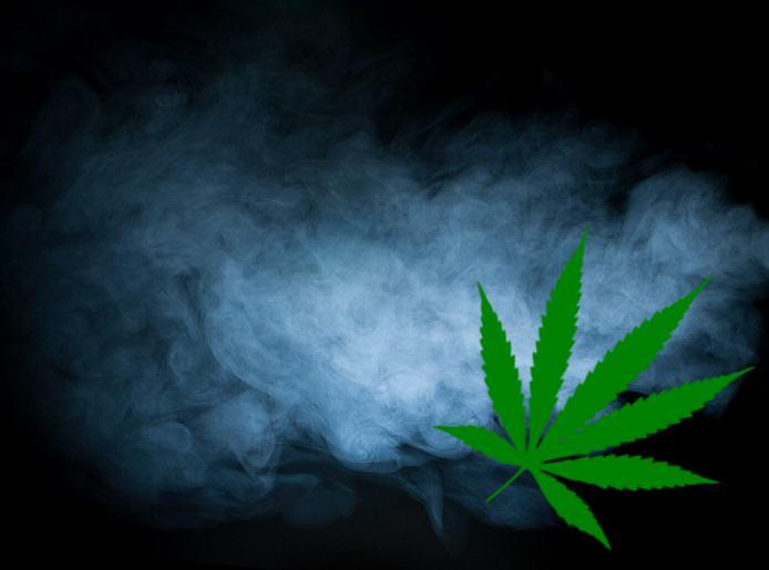 Vapeur de cannabis