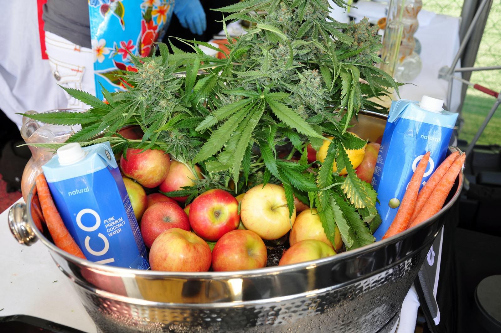 Le cannabis peut être consommé dans l'alimentation sous sa forme fraîche