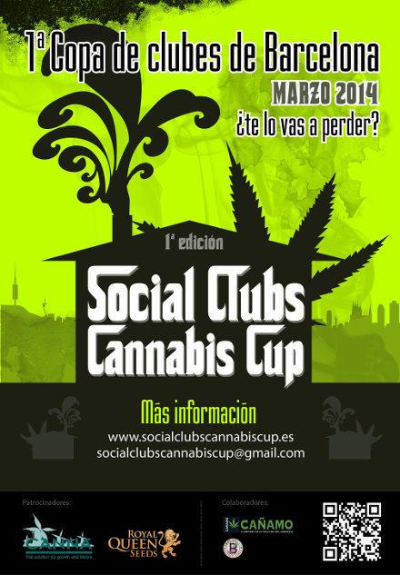 1ere Social Club Cannabis Cup à Barcelone
